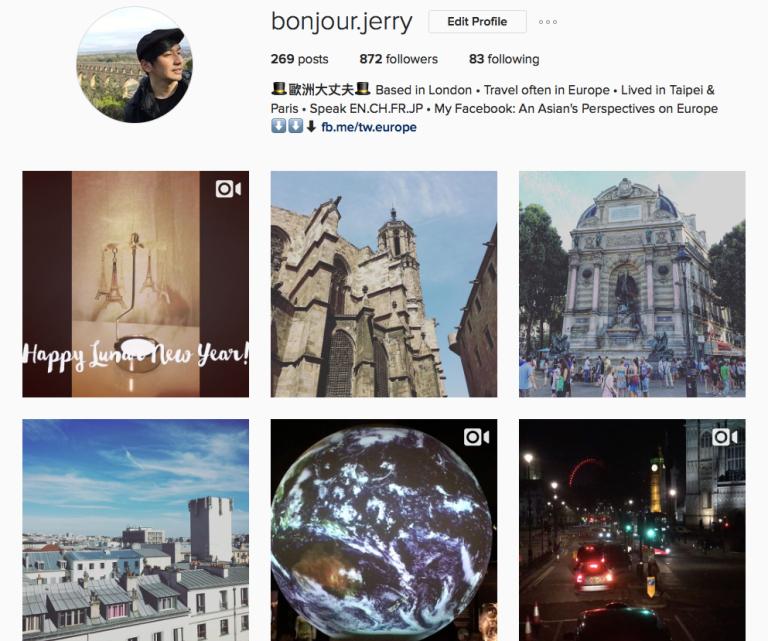 歐洲大丈夫instagram