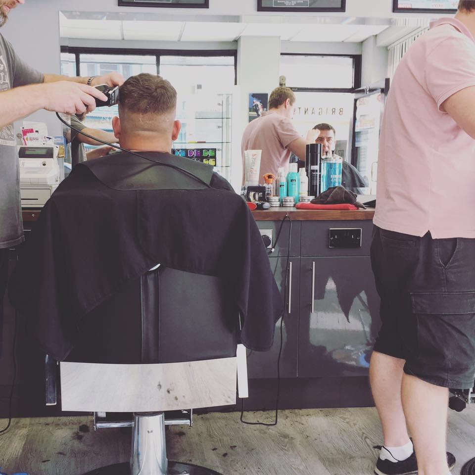 英國男士理髮