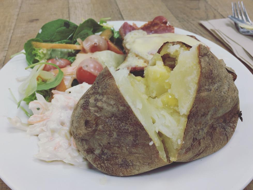 夾克馬鈴薯