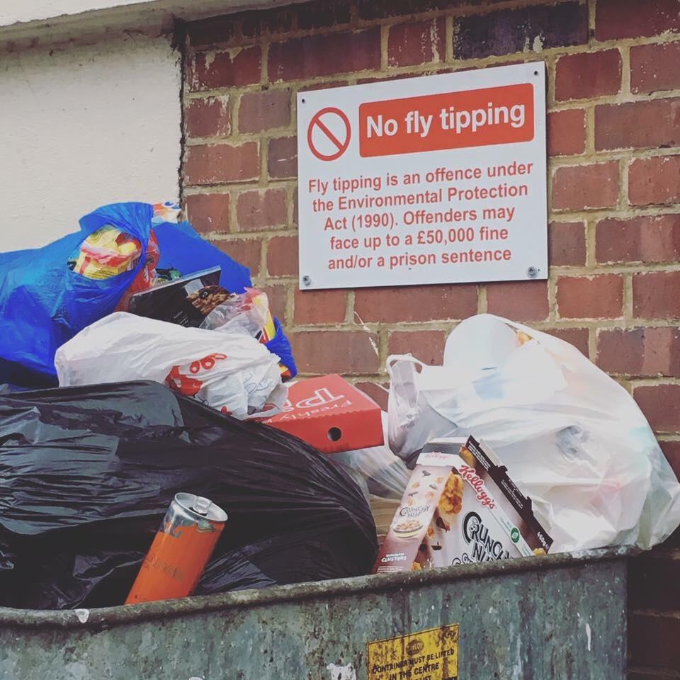 英國垃圾分類回收