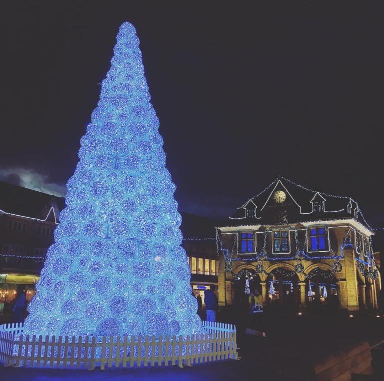 英國聖誕節樹